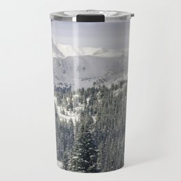 Opas Hut Winter Wonderland Travel Mug