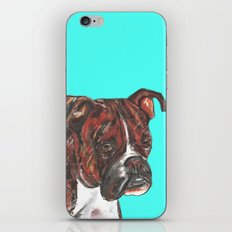 Boxer printed from an original painting by Jiri Bures iPhone & iPod Skin