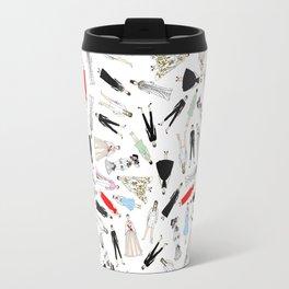 Audrey Hepburn Fashion (Scattered) Travel Mug