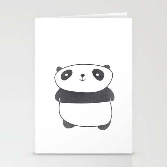 Panda Friend Stationery Cards