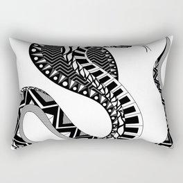 Doña Cobra Rectangular Pillow