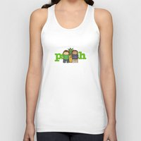 psych Tank Tops featuring Psych by MythicPhoenix