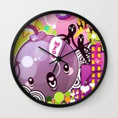 Bombs Wall Clock