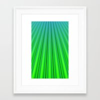 pocket fuel Framed Art Prints featuring Fuel Rods by Lyle Hatch