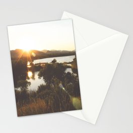 Golden Hour Glow Stationery Cards