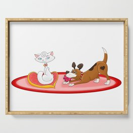 Making Amends (Happy Valentine's Day!) Serving Tray