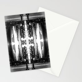Double Vision from Michigan Avenue, Chicago Stationery Cards