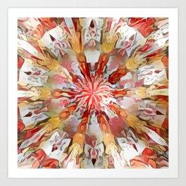 Colordrop Mandala 2 Art Print