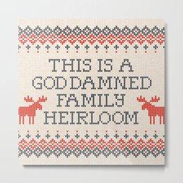 Family Heirloom Metal Print
