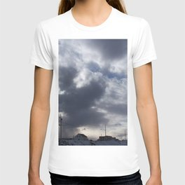 Witch in the clouds T-shirt