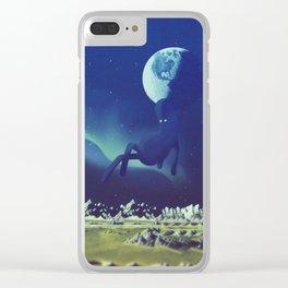 t u t t o b l u Clear iPhone Case
