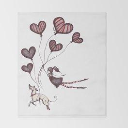 Spreading Love pt.2 Throw Blanket