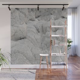 Pixel Snow Wall Mural
