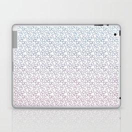 Hearts& hearts pattern (multicolor) Laptop & iPad Skin