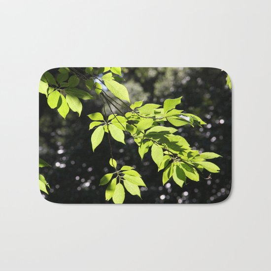 Magic leaves Bath Mat