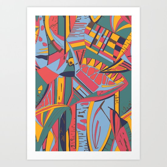 The Time Art Print