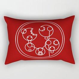 Keep Calm and Gallifrey On Rectangular Pillow