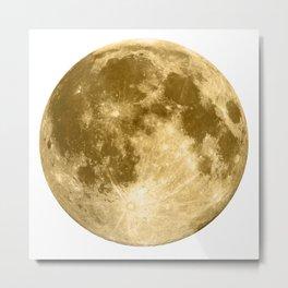 Golden Moonage Metal Print
