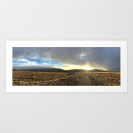 Land and Sky Art Print
