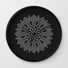Mandala LIX Wall Clock