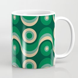 70s Optical Wallpaper Coffee Mug