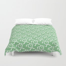 Honu (Green) Duvet Cover
