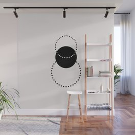 Geometric print - Shapes 001 Wall Mural