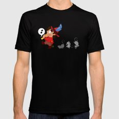 The Pied Piper of Hamelin  MEDIUM Black Mens Fitted Tee