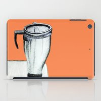 notebook iPad Cases featuring Coffee  by Brontosaurus