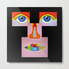 Color Vision Metal Print