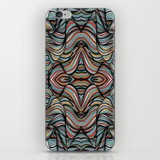 Abstract Waves of Thoughts iPhone & iPod Skin