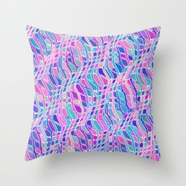Multicolor Pattern Throw Pillow