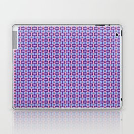 Pink, Purple, and Blue Low Poly Pattern Laptop & iPad Skin