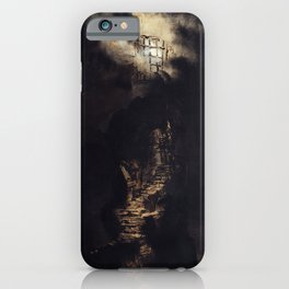 Victor Hugo - Stairs leading to a Light iPhone Case