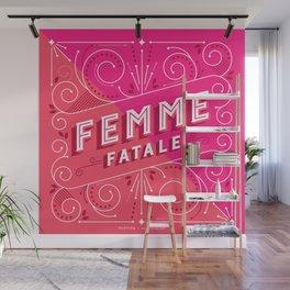 Femme Fatale Wall Mural