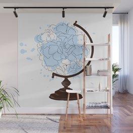 Floral Globus #2 Wall Mural