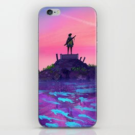 Pink Skies iPhone Skin