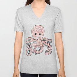 Octopus! Unisex V-Neck