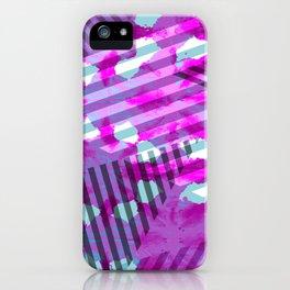 Triangle Stripe iPhone Case