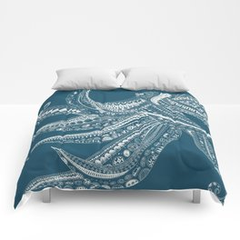 ELILIA Octopus in White Comforters