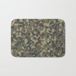 Rubber ducks camouflage Bath Mat
