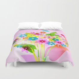 spring flowers valentine mothers day Duvet Cover