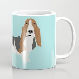 Basset Hound dog breed funny dog fart Coffee Mug