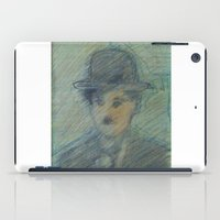 charlie iPad Cases featuring Charlie by SliackyJo