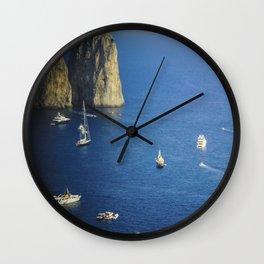 Capri, Amalphi Coast, Italy 7 Wall Clock