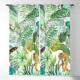 Jungle Tiger 03 Blackout Curtain