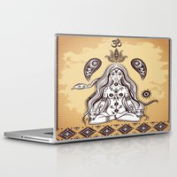 om Laptop & iPad Skins featuring om by flamenco72