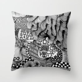 Infinity (Blackbook No. 2) Throw Pillow
