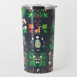 Biodiversity Mural Travel Mug