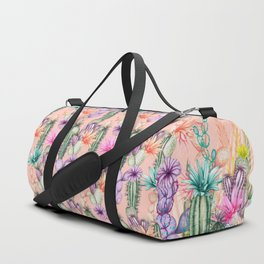 Cacti Love Duffle Bag